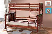 Двухъярусная кровать Скандинавия (темный орех)