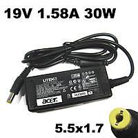 Блок питания Acer 19V 1.58A 30W (5.5*1.7) Зарядное устройство для нетбука Acer