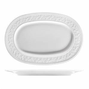 Блюдо овальное 24см Silvia Satin