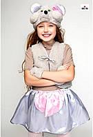 Новорічний карнавальний костюм Мишки для дівчинки