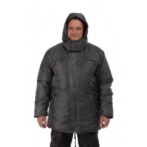 Куртка зимняя Актив мужская Синтепон серая