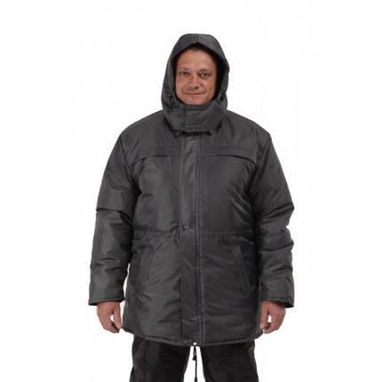 Куртка зимняя Актив мужская Синтепон серая, фото 2