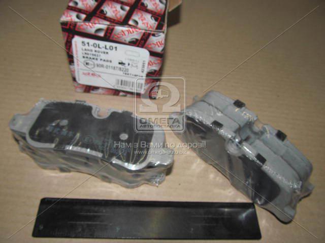 Комплект тормозных колодок, дисковый тормоз (пр-во ASHIKA) 51-0L-L01
