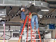 Разводка воздуховодов для систем вентиляции