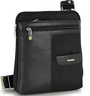 Мужская кожаная сумка Adpel Acciaio Polo 1104N черный