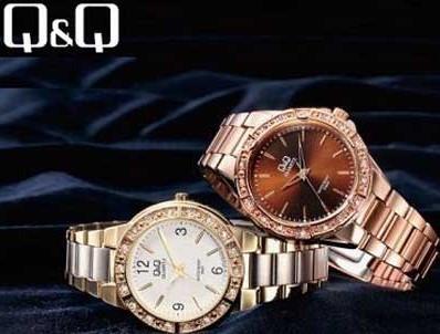 Q&Q - Японские часы с оригинальными бирками и гарантийным талоном на 1 год