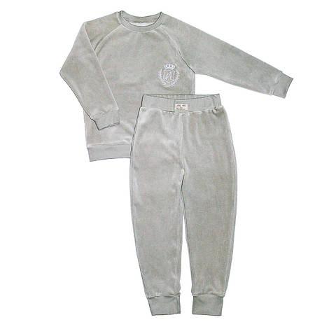 Велюровый костюм Mi Mi by Andriana 5-8 лет, серый