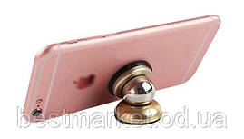Магнітний тримач для телефону,планшета,навігатор Mobile Bracket 360