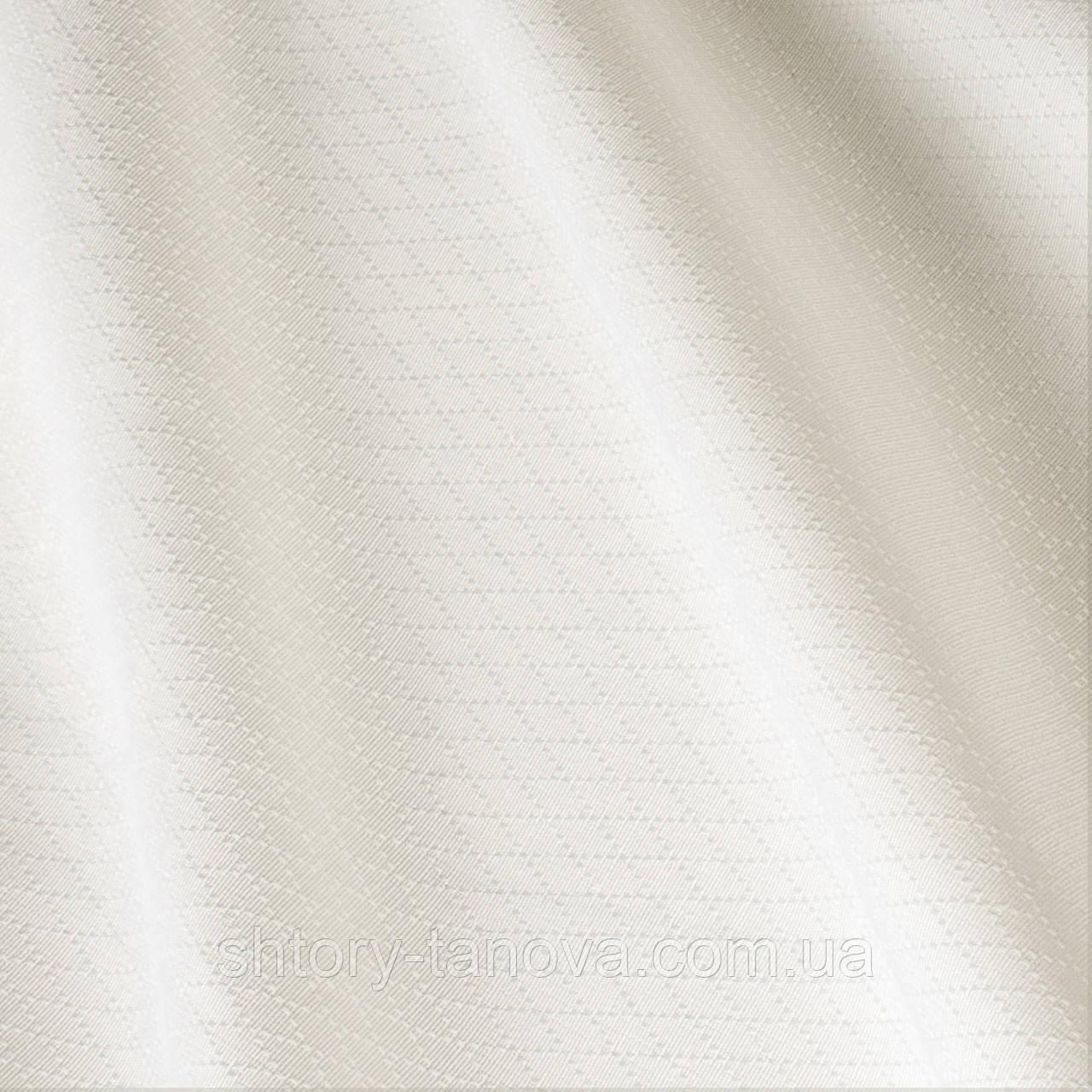 Однотонная итальянская молочная скатертная ткань