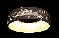 Светодиодная подвесная люстра с регулируемой высотой 6079