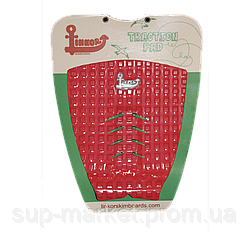 Коврик задний для сёрф доски Linkor Tail Pad, red