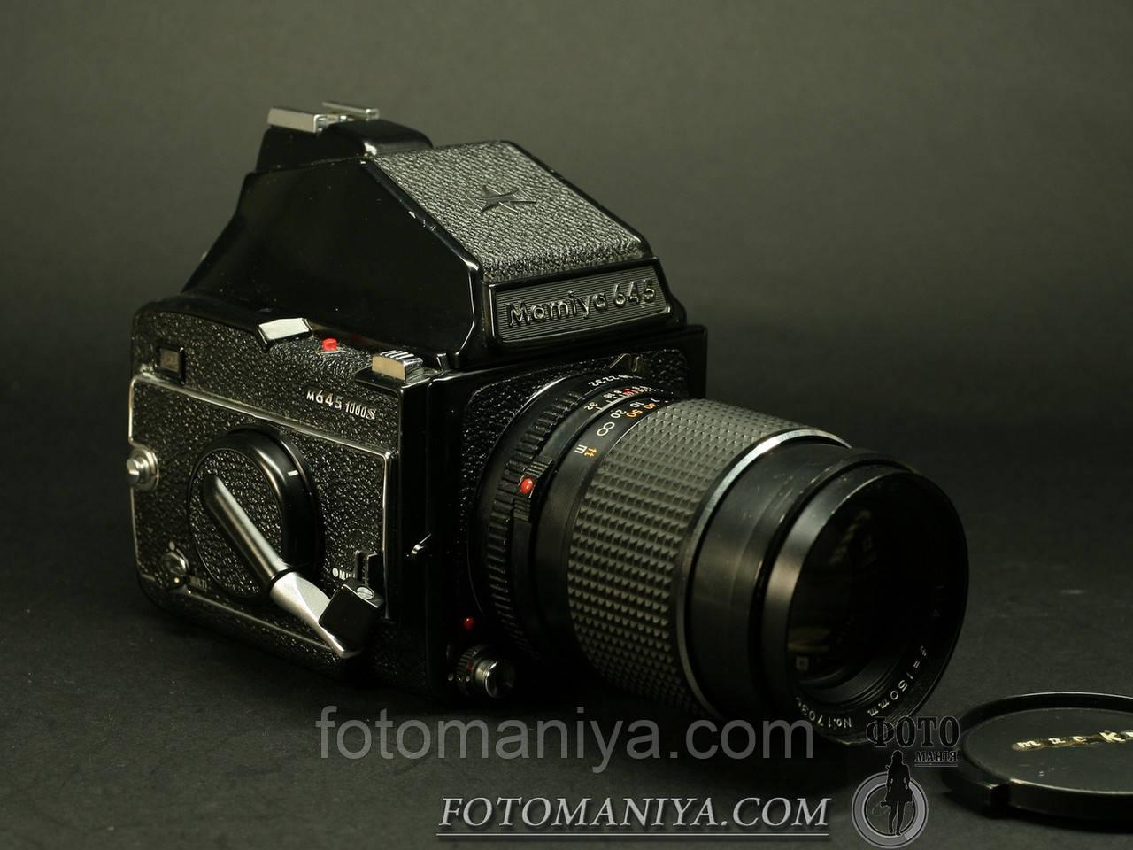 Mamiya M645 1000s kit Mamiya-Sekor C 150mm f4