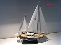 Коллекционная модель парусной яхты Nauticat 331.