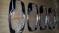 Хром накладки на под ручки мыльницы для Opel Vivaro 2001-2014