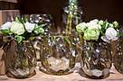 Ваза AMAZING vase s gold_smokey 672353-PT PTMD Collection, фото 3