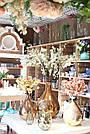 Ваза AMAZING vase s gold_smokey 672353-PT PTMD Collection, фото 4