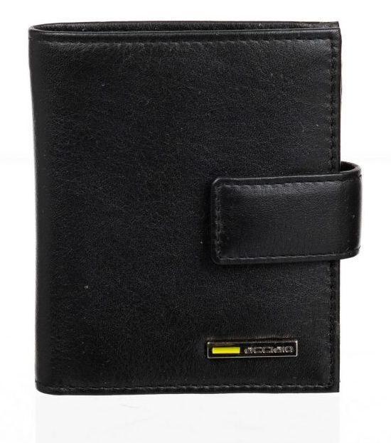 Мужское портмоне из натуральной кожи Adpel Acciaio Riviera 1602NJ черный