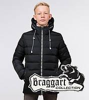 Куртка детская зимняя Braggart Kids - 65028K графит