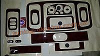 Декоративные накладки на панель приборов ( фул сет) на Opel Vivaro 2001-2014