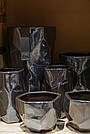 Ваза DAVIS vase l silver_nordic_shape 672251-PT PTMD Collection, фото 3