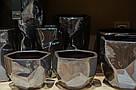 Кашпо PTMD DAVIS Pot  l silver_nordic_shape 672248-PT , фото 2