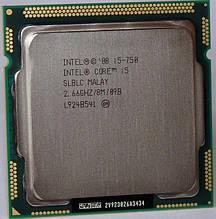 МОЩНЫЙ ПРОИЗВОДИТЕЛЬНЫЙ 4ехЯДЕРНИК на S1156 INTEL Core i5-750 ( 2,66 ГГц,Turbo BOOST до3,2GHz, LGA1156,4 ЯДРА