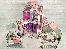 Кукольный домик для LOL LITTLE FUN с двориком FANA