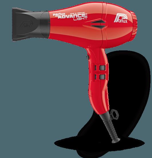 Фен для волос Parlux Advance Light Ionic, PADV-red, с ионизацией, 2200 Вт