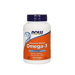 Now Foods Omega 3 100 капс