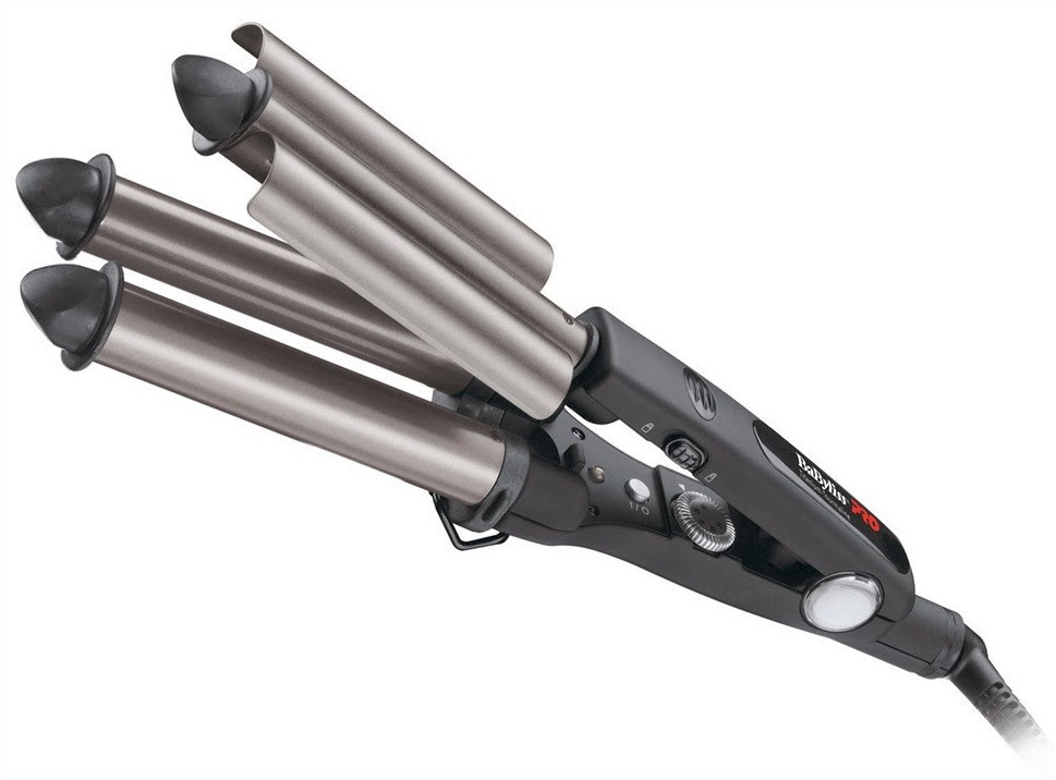 Тройная плойка Babyliss Pro BAB2269TTE Triple Barrel Wawer