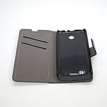 Чехол Book Cover Lenovo A376 black, фото 3