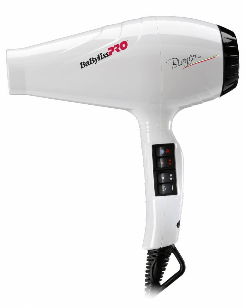 Фен для волос Babyliss BAB6350IE Bianco Ionic профессиональный, 2100 Вт