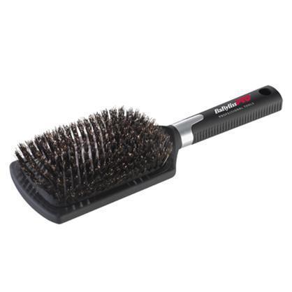 Щетка массажная для волос Babyliss Pro BABBB1E с натуральной щетиной