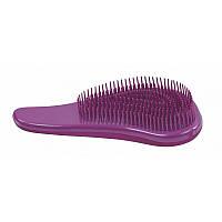 Массажная распутывающая щетка для волос Sibel D-meli-melo Metallic, 8491121 фиолетовая, фото 1