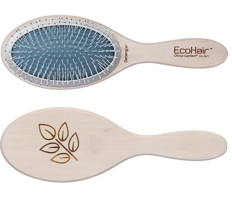 Щетка массажная бамбуковая Olivia Garden Eco Hair Eco-Friendly Bamboo Paddle Collection Detangler, OGBEHDET