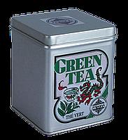 Зеленый Крупнолистовой чай, GREEN TEA, GREEN TEA, Млесна (Mlesna) 100г.
