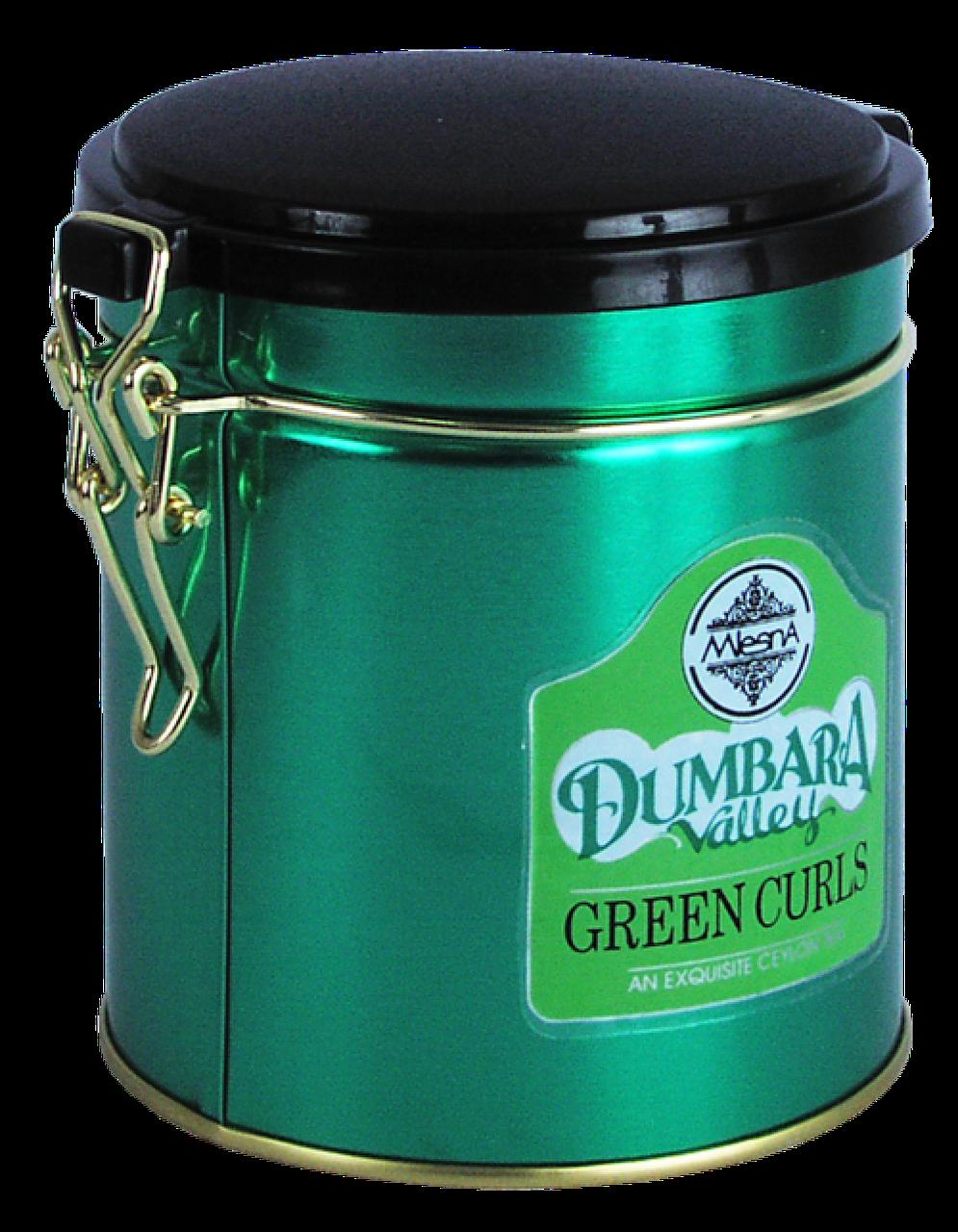 Зеленый чай Думбара, DUMBARA GREEN TEA, Млесна (Mlesna) 100г.