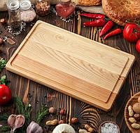 Кухонная деревянная доска для нарезки 40х25 см, фото 1