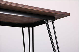 Стол Smith 120х60 черный, фото 3
