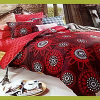 """Комплект постельного белья САТИН  Elway """"Двуспальный Евро"""" 4206 Польша"""