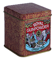 Зеленый чай Королевский Пушечный Порох, ROYAL GUNPOWDER, Млесна (Mlesna) 100г.