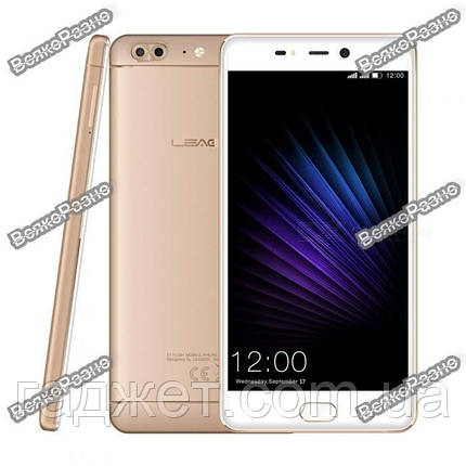 117d58fd6d9d8 Смартфон Leagoo T5 золотого цвета Android 7,0; 5,5