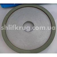 Алмазный шлифовальный круг плоский с двусторонней выточкой(9А3), фото 1