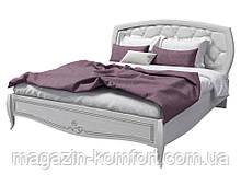 Кровать двуспальная SRBED-160 San Remo_Сан Ремо_сосна белая