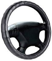 Чехол на руль Elegant Plus  черный рельефный размер LEL 105511