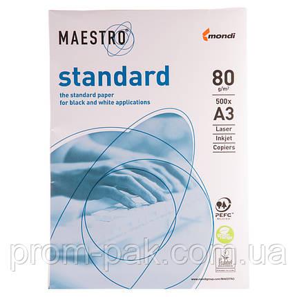 Бумага для офиса Maestro Standart  A3 пл 80 500лис, фото 2