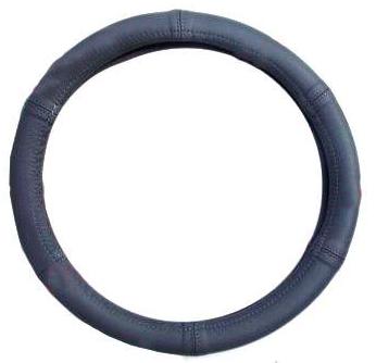 """Чехол на руль Elegant Maxi кожа """"премиум""""  серый-серый перфорированный размер M 37-38 см  EL 105 151"""