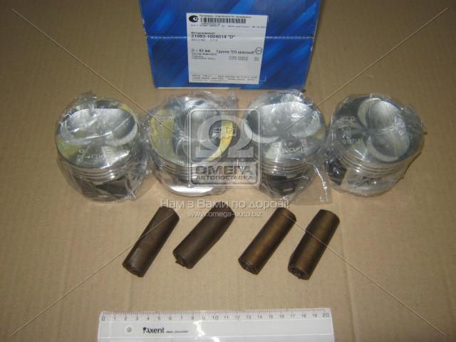 Поршень цилиндра ВАЗ 21083,11113 d=82,0 гр.D М/К (NanofriKS), п/палец (МД Кострома) 21083-1004015