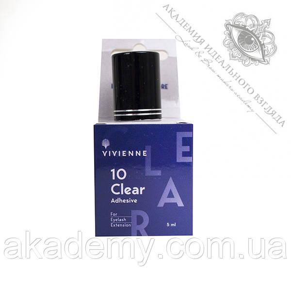 Клей прозрачный Clear Vivienne 5 мл для наращивания ресниц