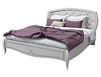 Кровать двуспальная SRBED-180_San Remo_Сан Ремо_сосна белая